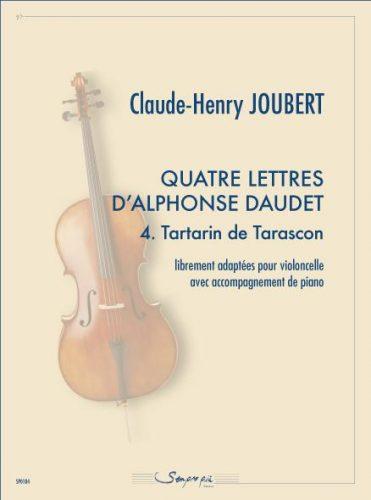 Quatre lettres d'Alphonse Daudet 4. Tartarin de Tarascon