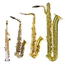 2-3 Saxophones et plus