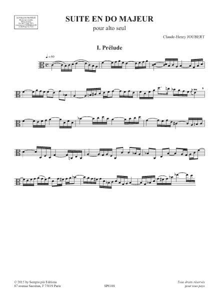 Suite en Do majeur