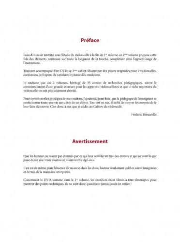 Les Cahiers du violoncelle volume 2