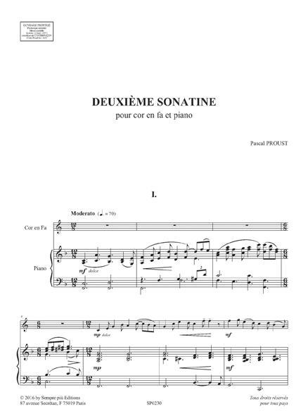Deuxième sonatine