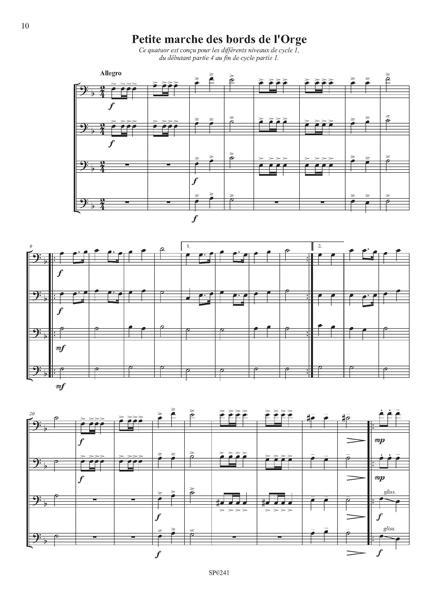 6 Quatuors de trombones