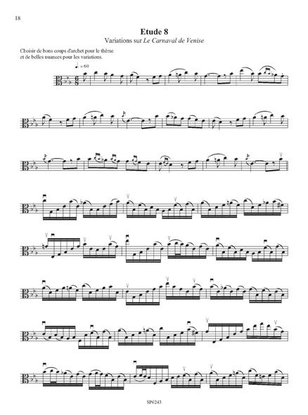 Douze études de concert
