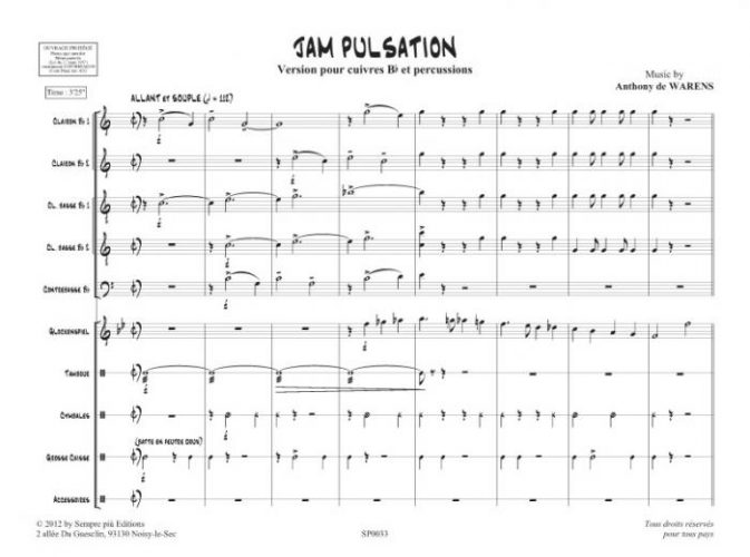 Jam pulsation