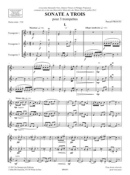 Sonate à trois