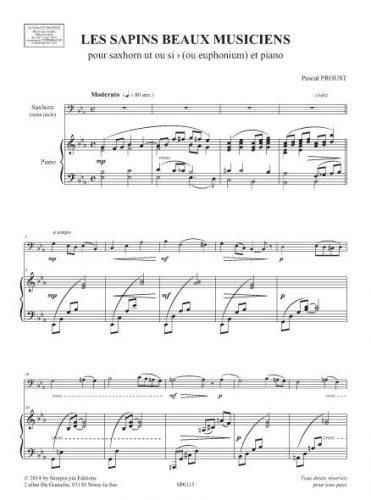Les Sapins beaux musiciens