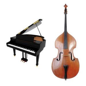 Contrebasse et piano