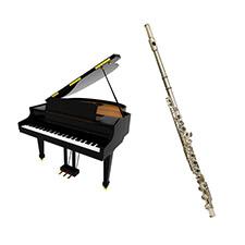 Flûte et piano