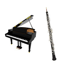 Hautbois et piano