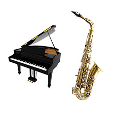 Saxophone et piano