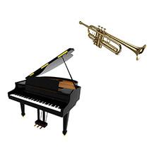 Trompette et piano